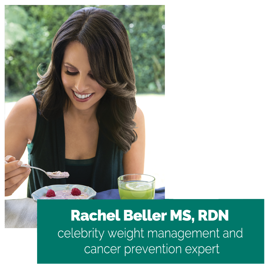 Rachel Beller Nutrition - celebrity weight management and cancer prevention expert